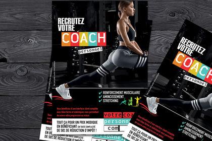 Flyer coatch sportif personnel