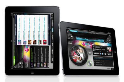 Application iPad Fun radio