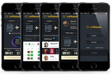 Application iPhone Lufthansa