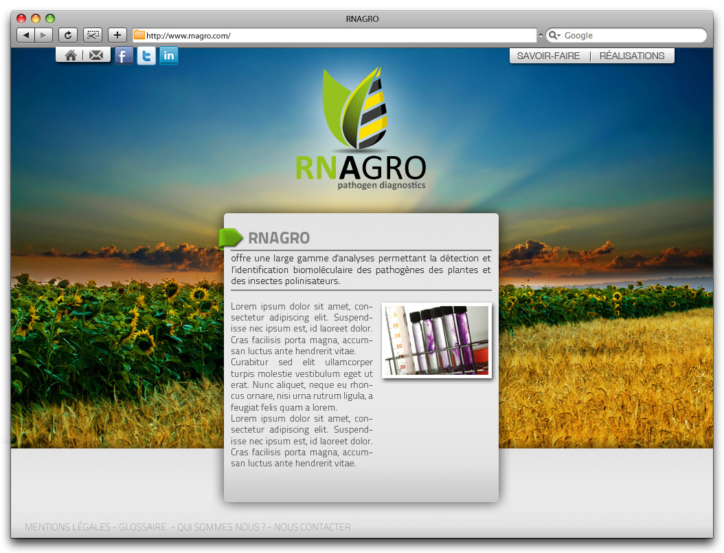 Site rn agro