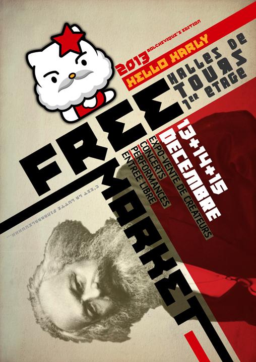 Free market de tours 2013