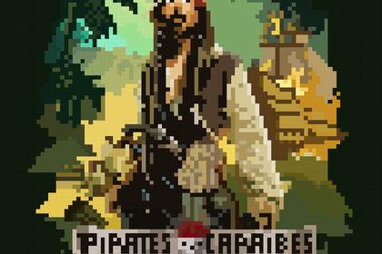 Pixel art pirates
