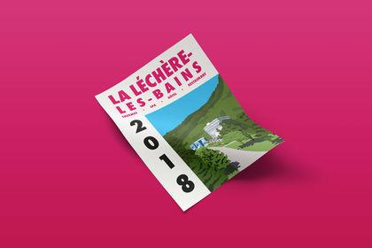 Affiche La Léchère-Les-Bains