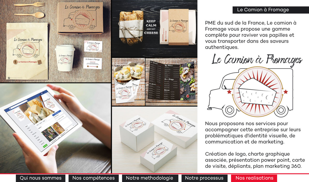 Le camion a fromages