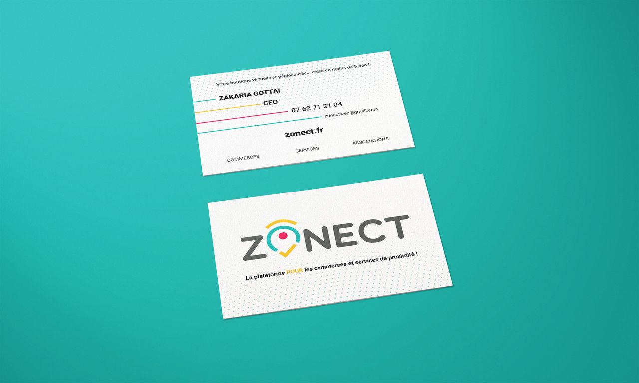 Zonect - Carte de visite