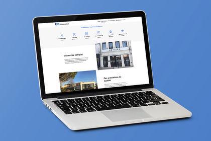 Web design d'une entreprise de rénovation