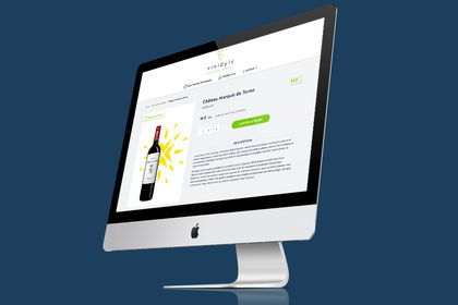 Webdesign d'un site e-commerce