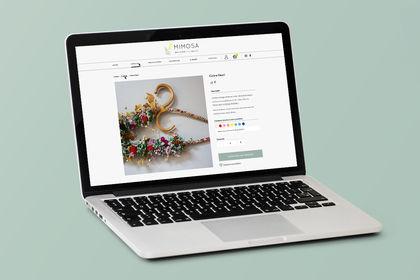 Webdesign responsive d'une fleuriste