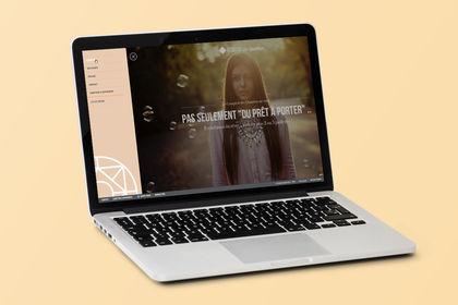 Webdesign de boutiques de prêt-à-porter