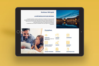 Webdesign d'un promoteur immobilier