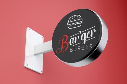 Logo d'un burger