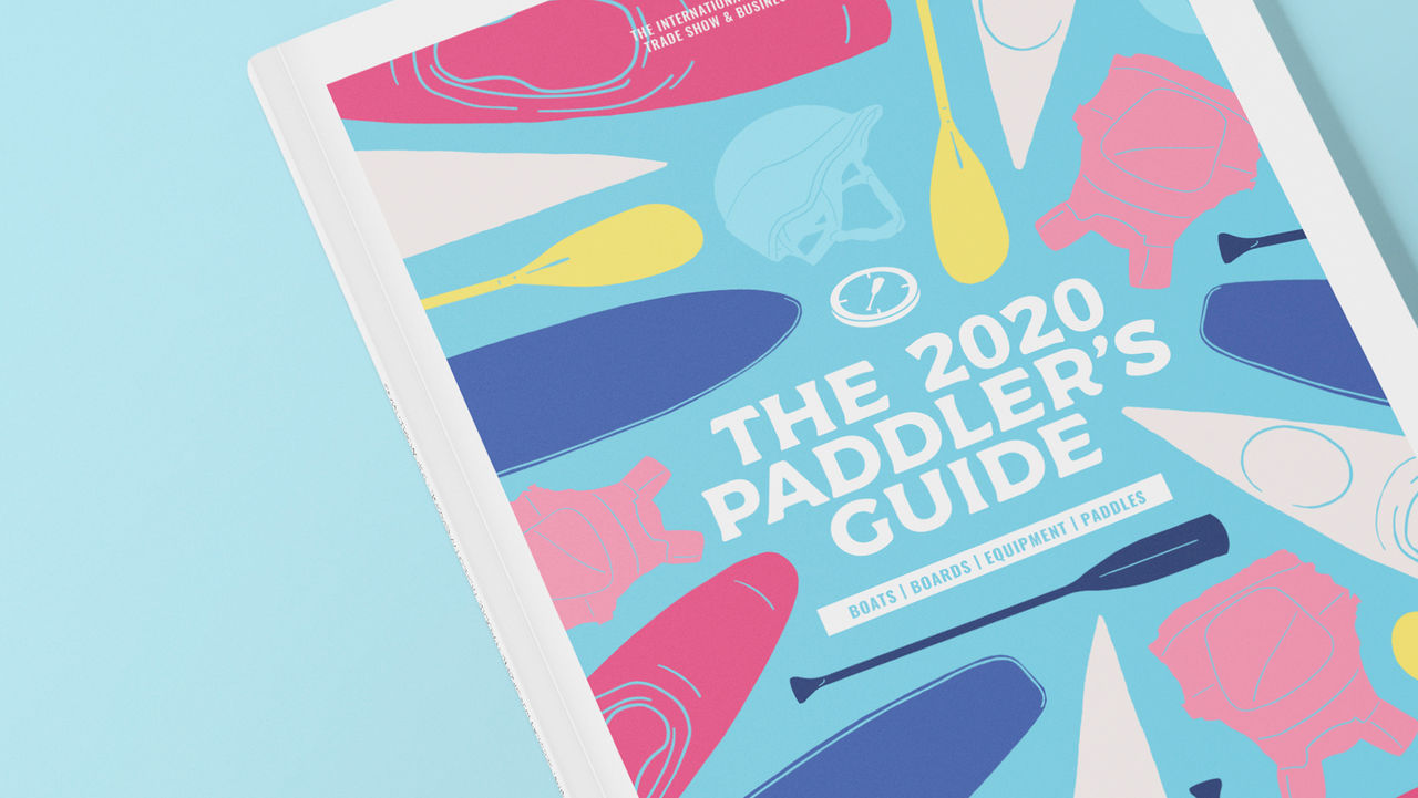 The 2020 Paddler's Guide - DA & Mise en page