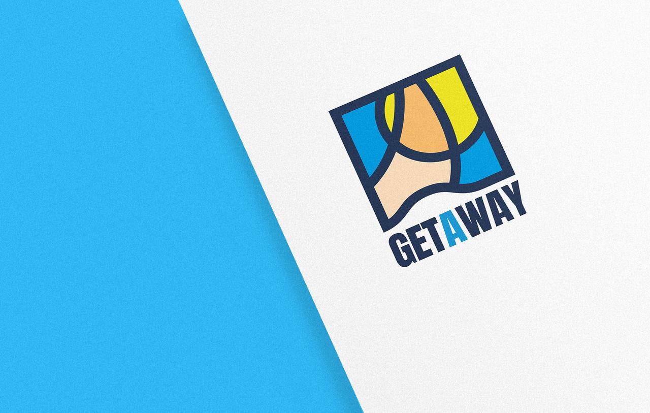 Get AWay - Création de logo & charte graphique