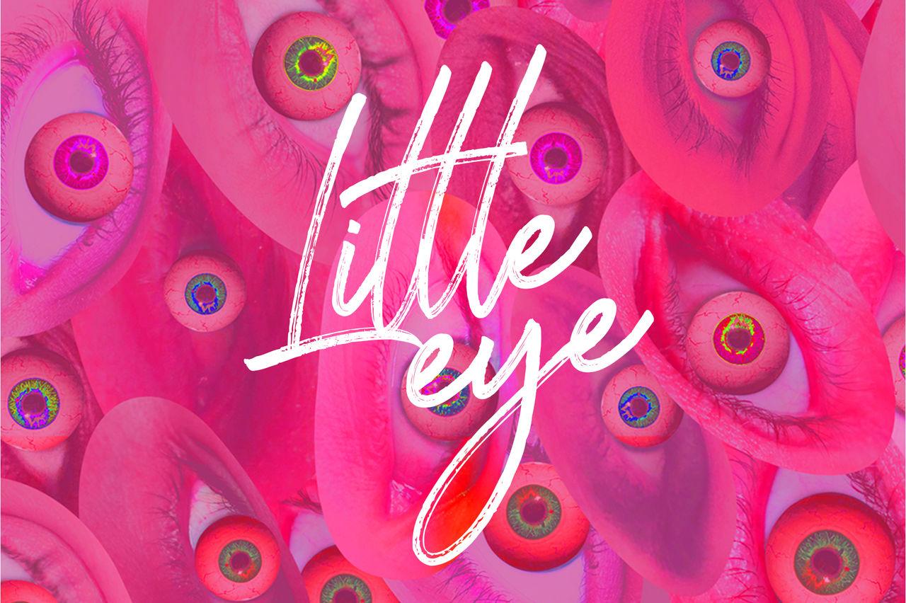 Little Eye - Création de pochette d'album