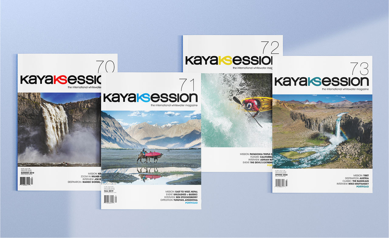 Kayak Session Magazine - Collection 2019