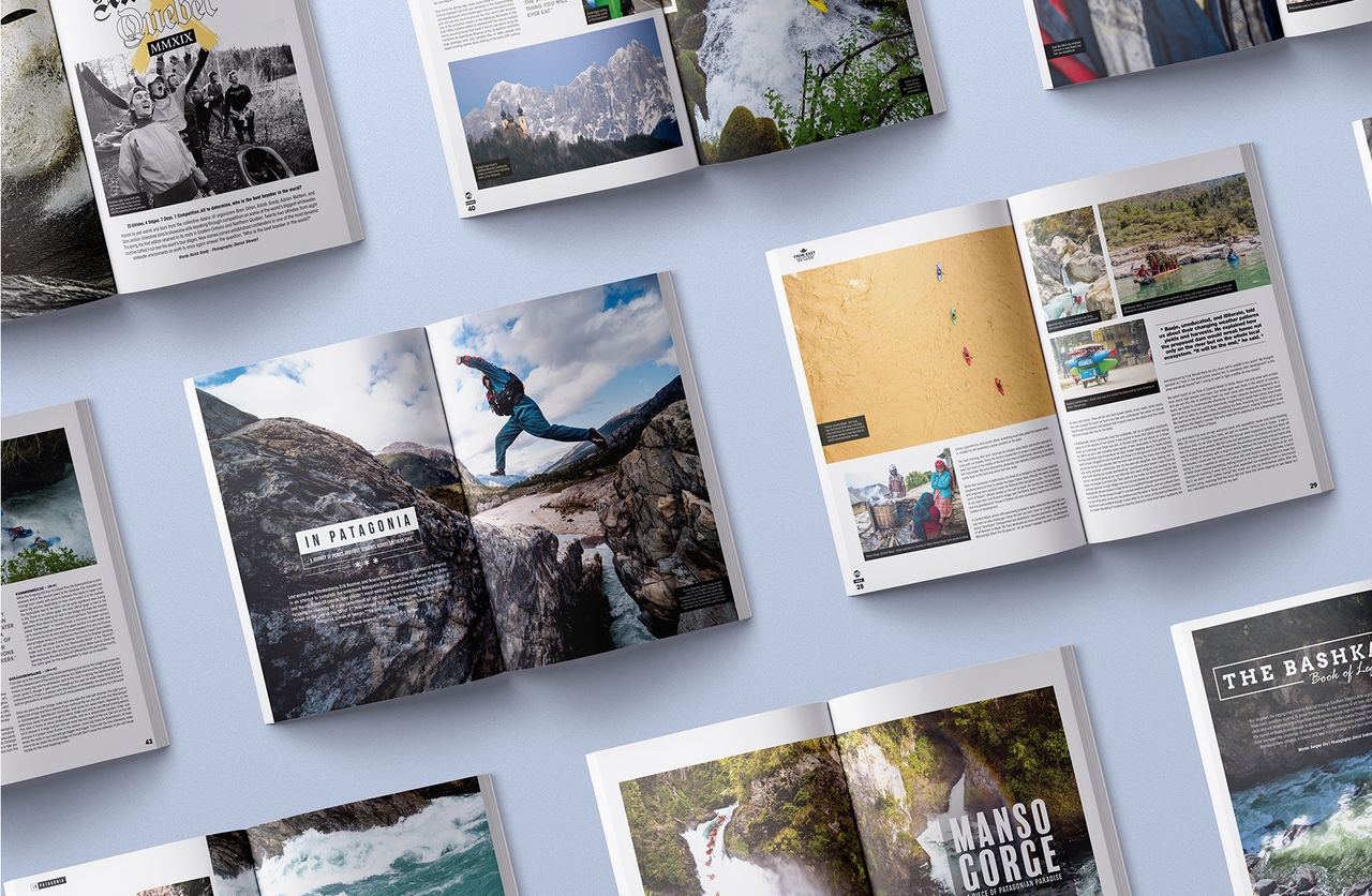 Kayak Session Magazine - Collection 2019