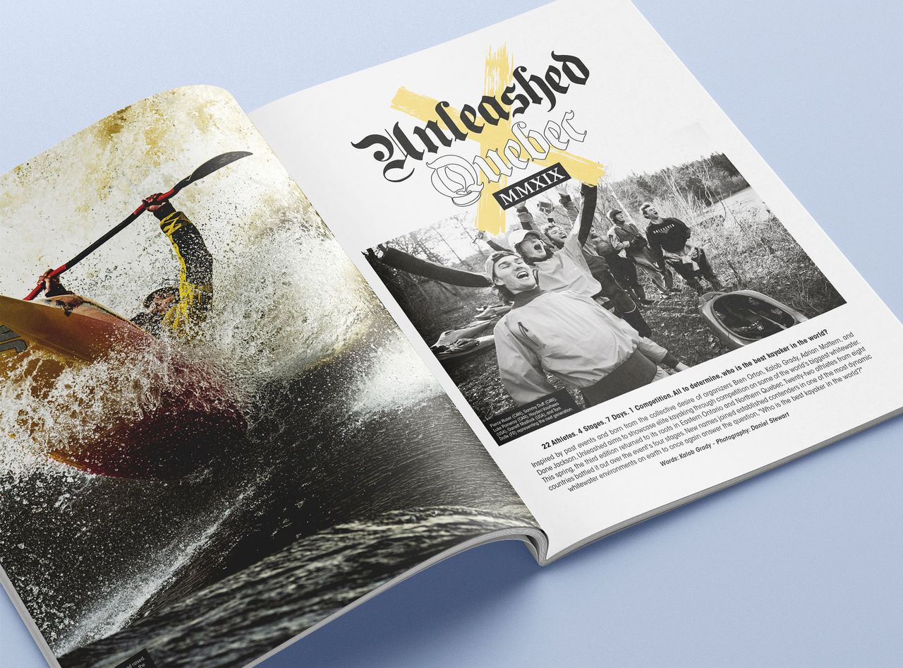 Kayak Session Magazine - Direction artistique