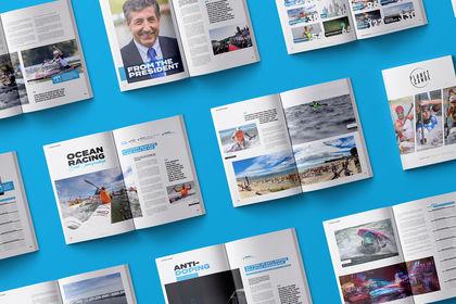 ICF Magazine - Mise en page & DA