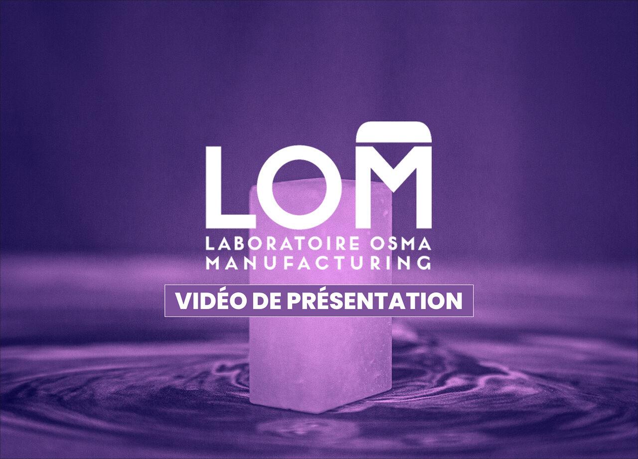 Laboratoire Osma - Vidéo de présentation