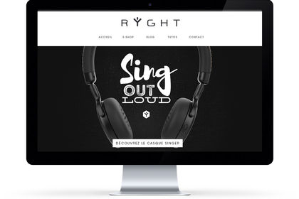Site internet - Ryght