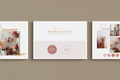 Branding - Maman Louve