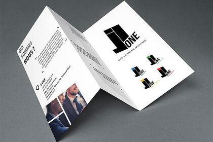 Brochure Société J-ONE