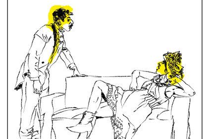 Illustration d'une pièce de Feydeaux