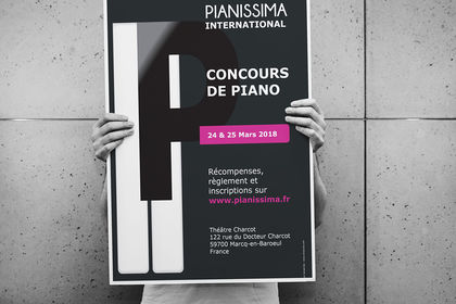 Affiche Pianissima International 2018