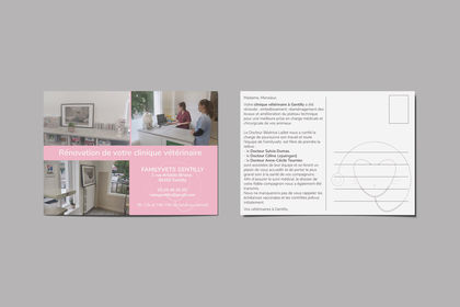 Carte postale Familyvets