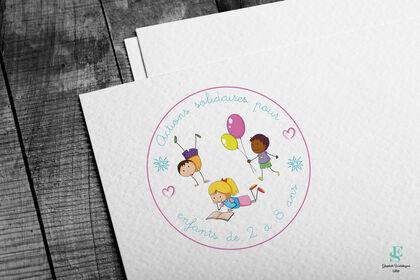 Logo Association Actions solidaires pour enfants d