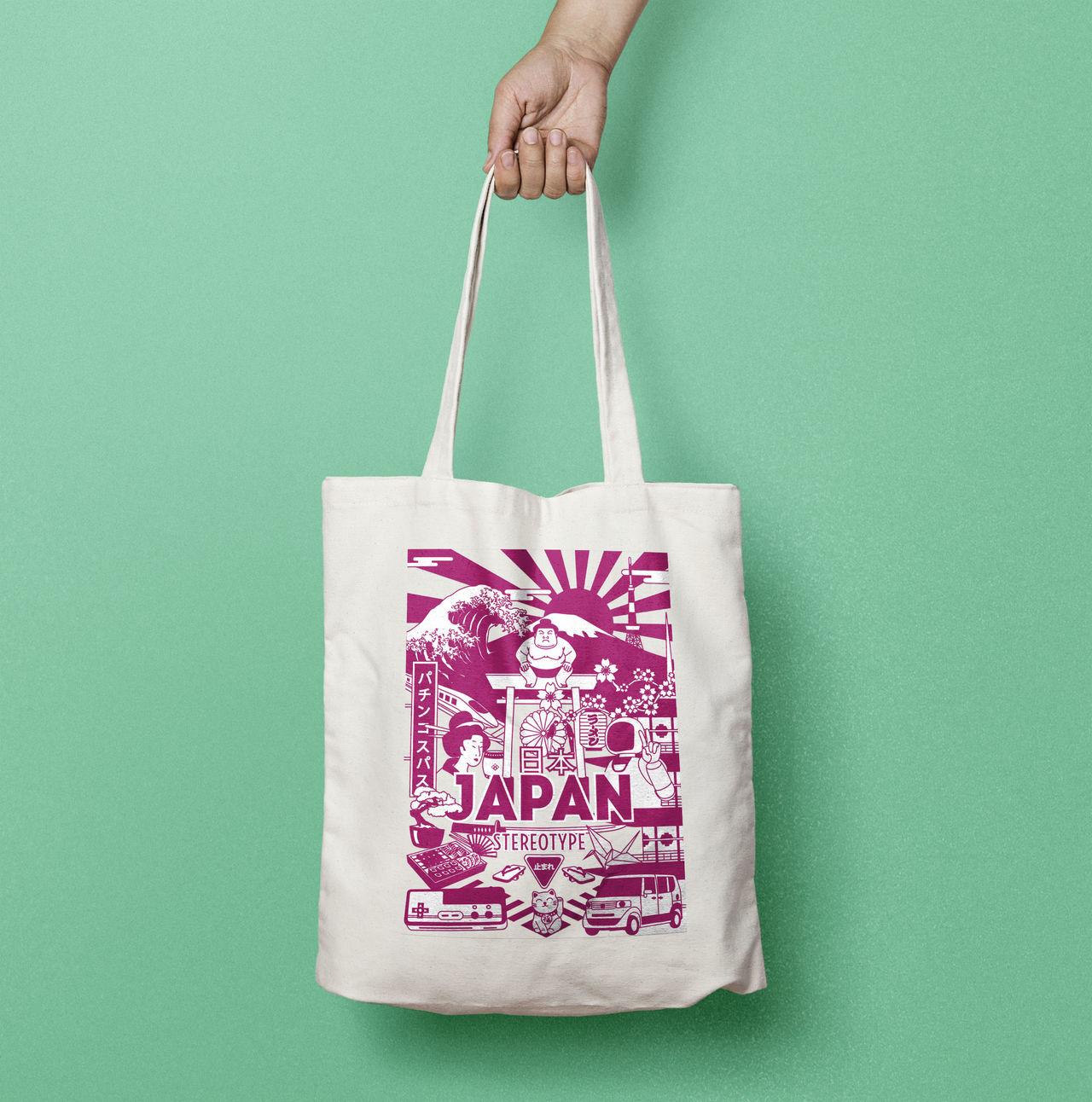 Totebag Japan Stereotype
