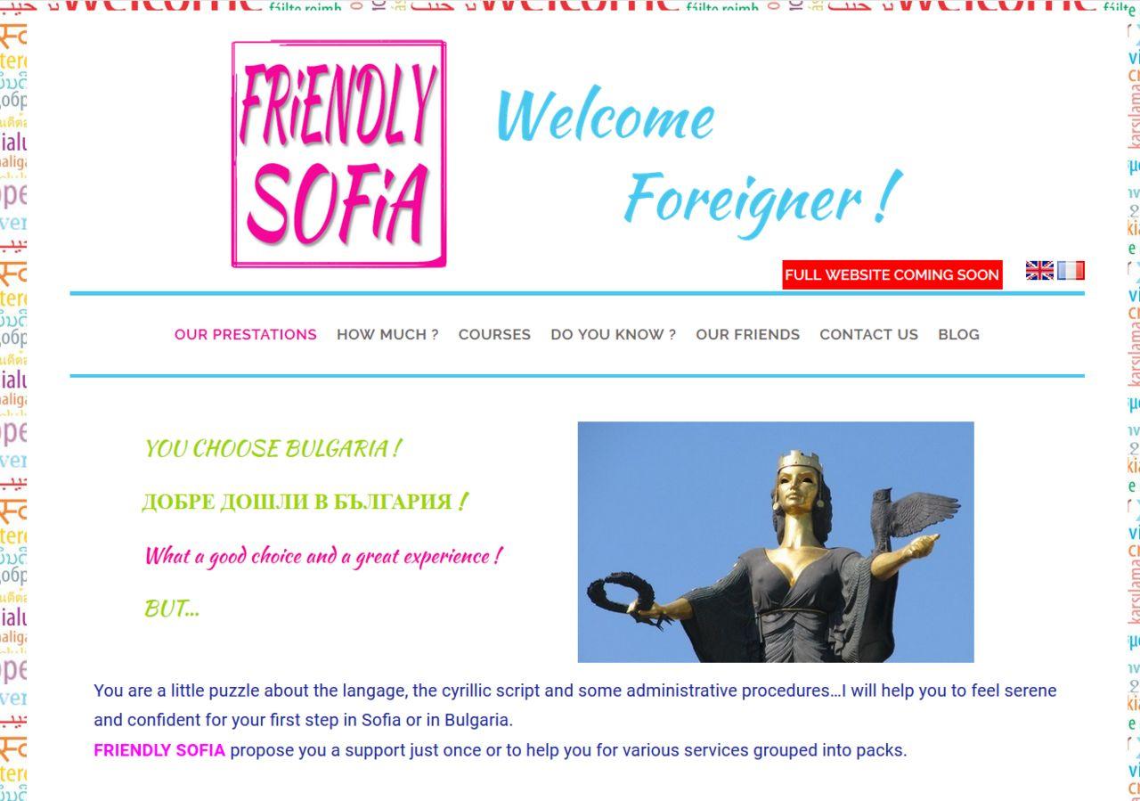 Création du site vitrine multilangue +blog