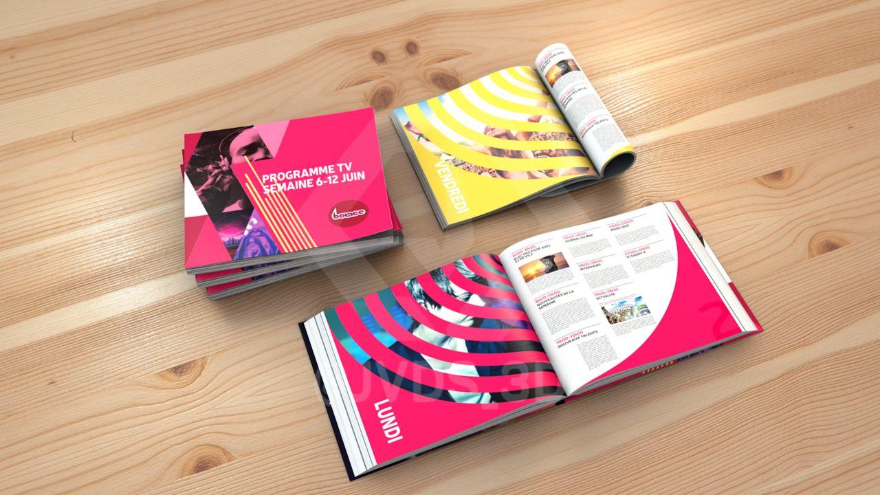 Bounce - Catalog Mockup