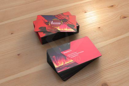 Bounce - Business Card Mockup 1
