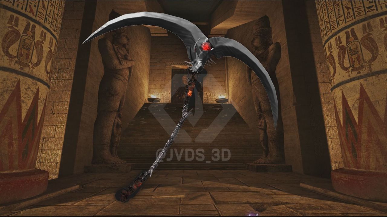 Game Asset : Evil Scythe