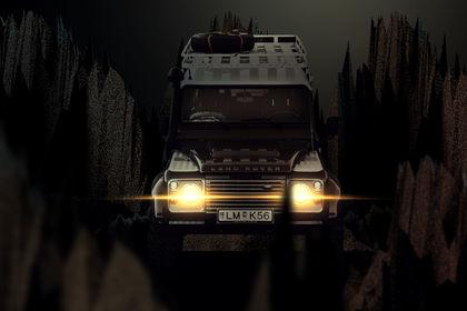 Retouche jeep