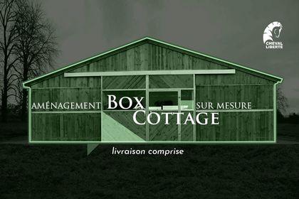 Maquette publicitaire box