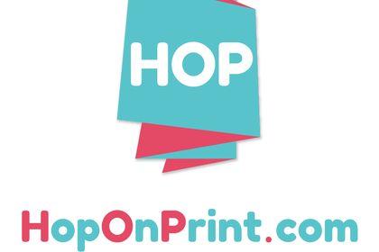 Logo HOP On Print