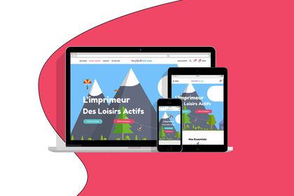 Webdesign HopOnPrint