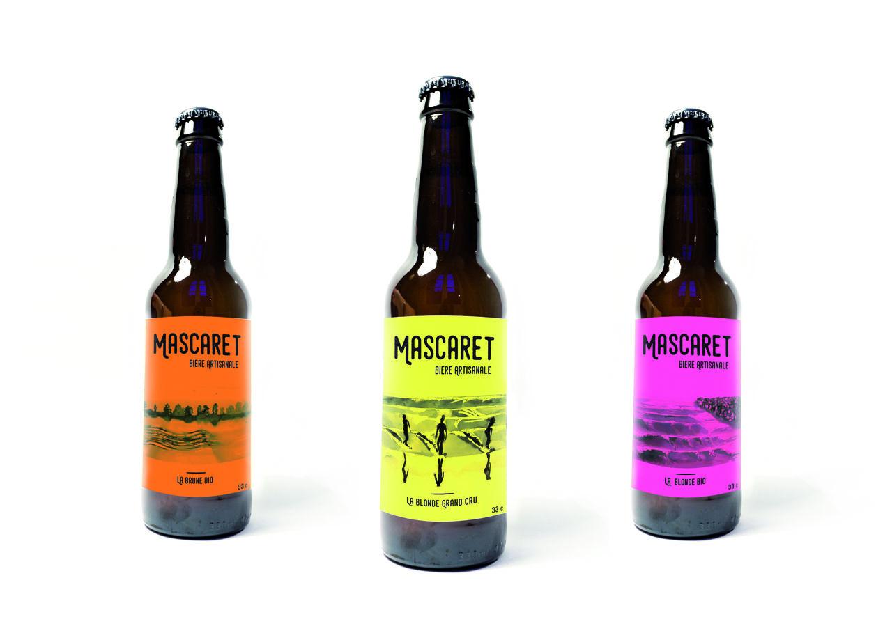 Packaging bière du Mascaret