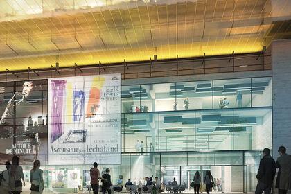 Perspective 3D - Concours Architecture Cinéma
