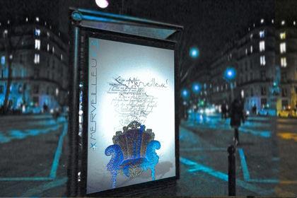 MENDINI affiche expo Merveilleux
