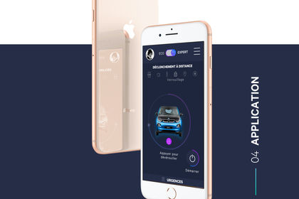 Design d'interface - BMWi3