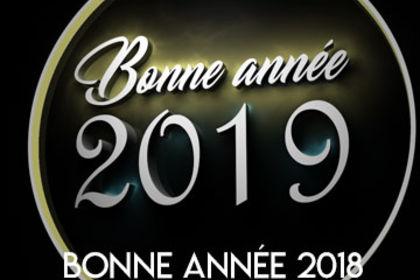 Bonne année 2019 - Caméra 3D