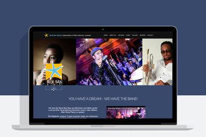 Site internet pour musicien