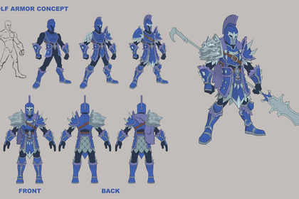 Wolf armure concept