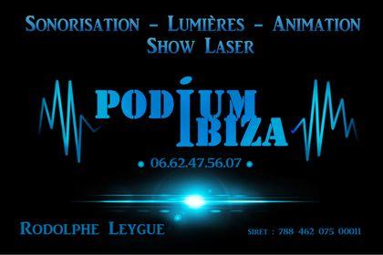 Carte de visite Podium Ibiza