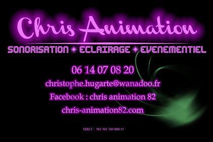 Carte de visite Chris Animation
