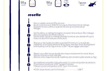 Affiche personnalisée pour recette (sur demande)