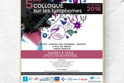 Affiche France Lymphome Espoir